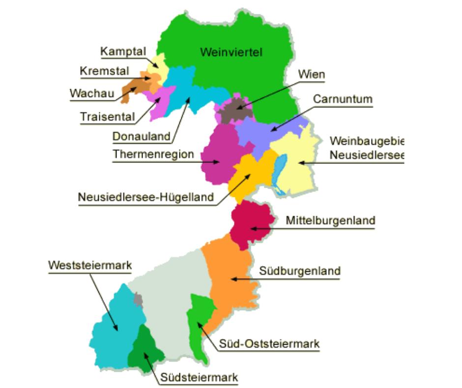 Regiony Winiarskie – Austria